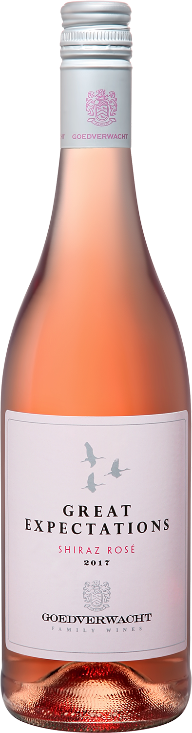 Great Expectations Shiraz Rose Robertson Valley WO Goedverwacht, 0.75л