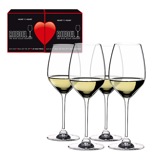 Riedel Heart to Heart RIESLING / Sauvignon Blanc (4 glasses set)