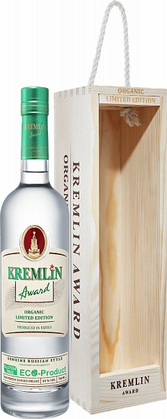 KREMLIN AWARD Organic Limited Edition (gift box), 0.7л